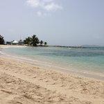 Beach at Nanny Cay