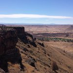 On the mesa above the Lodge, get here by hiking the Yellow trail