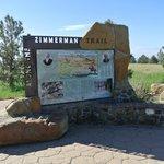 Zimmerman Trail sign