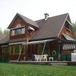 House facing Hudson Bay Mountain