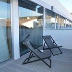 Hotel M'Ar De AR Aqueduto -Évora(varanda da suite)
