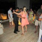Dancing at Gaby Beach