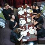 Personal del Comedor luego de la faena diaria. Muchas gracias chicas...!!!