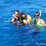 Snorkeling Hastings Outer Reef  ~ Charisma assisted by Peter: host/crew member Seastar Cruises