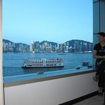 Room 537 had a view of Causeway Bay, Wanchai