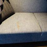 Stains on the loungesuite