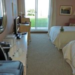 Comfortable room - great view