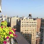 Vue de la terrasse 16e étage - Nylo
