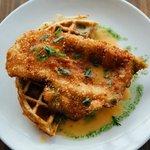 Crispy Chicken & Waffles