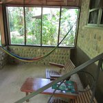 Screened Porch in Jungle Lodge Rooms