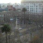 Plaza Cagancha, onde está localizado o hotel.