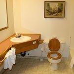 Bathroom simple but clean