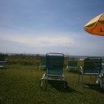 Table/chair & umbrella area