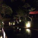 the pool @ night