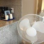 Provide fan for warm summer night.