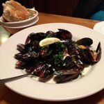 steamed mussels at the Tavern