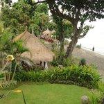 A lovely garden and gazebo