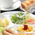洋朝食セットもございます