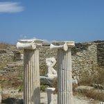 Ionian pillars