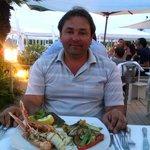 Второе блюдо в ресторане GILDA