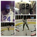 Score! Baseball Jersey's w/ special meaning. Hockey exhibit (1st Try)