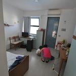 L'ingresso-cucina-letto