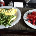 Healthy Options Room Service