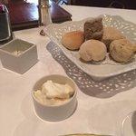 pane e mousse al gorgonzola