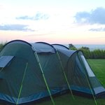 Tent at Pinewood campground