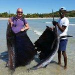 Pesca a traina - pesce vela