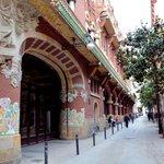 カタルーニャ音楽堂の外観
