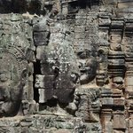 Face in Bayon Temple