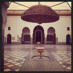 Le musée de Marrakech et l'école Ben Youssef