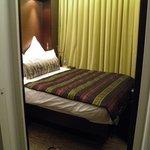 habitación muy pequeña