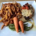 Penmore Croft steak and handcut chips