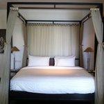 Bedroom in Spa Pavilion