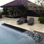 Private garden/pool of Spa Pavilion