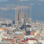 Imposing over Barcelona...