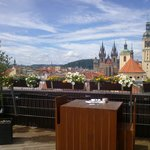 The beautiful view from sun terrace - Restaurant T-Anker
