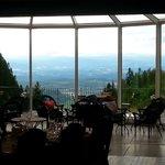 Utsikt, restaurant Dronningen