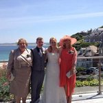 Stunning backdrop to our beautiful wedding