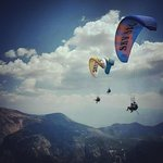 Paragliding with skysports