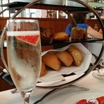 Strawberry Champagne Afternoon Tea