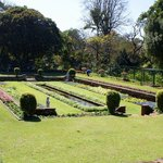 Manicured lawns and beautifully tailored gardens