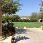 the villas area