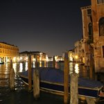 venice is beautiful by night