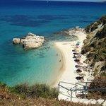 leuke strandje op Zakyntos