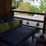 Haadtien Beach Club - our deck