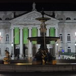 Rossio Square by Night