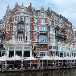 amstel - hotel de l'europe e battello